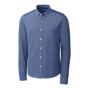 Men's Reach Oxford Button Front L/S