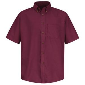 Red Kap™ Short Sleeve Poplin Dress Shirt